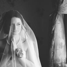 Фотосъемка свадьбы Дениса и Елены в Славгороде - дома у невесты