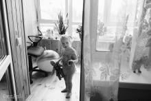 Фотосъемка свадьбы Андрея и Кристины в Могилеве - дома у невесты - племянница