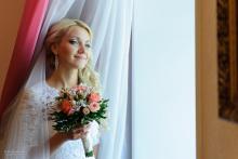 Фотосъемка свадьбы Евгения и Дины в Могилеве - дома у невесты