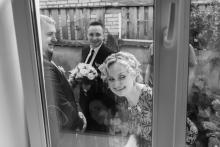 Фотосъемка свадьбы Сергея и Елены в Могилеве - выкуп