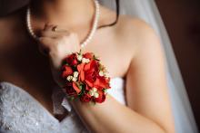 Фотосъемка свадьбы Дениса и Елены в Славгороде - невеста - аксессуары