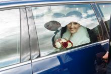 Фотосъемка свадьбы Михаила и Юлии в Круглом - жених и невеста