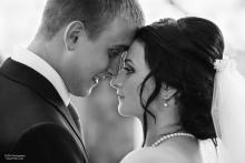 Фотосъемка свадьбы Дениса и Елены в Славгороде - молодожены