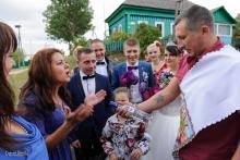 Фотосъемка свадьбы Алексея и Анастасии в Кричеве - заяц