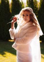 Фотосъемка свадьбы Андрея и Ольги в Могилеве - портрет невесты
