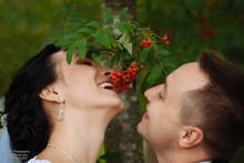 Фотосъемка свадьбы Сергея и Елены в Могилеве - свадебная прогулка